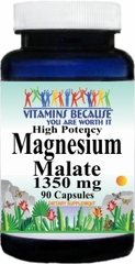 4291 Magnesium Malate High Potency 1350mg 90caps Buy 1 Get 2 Free