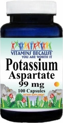 4338 Potassium Aspartate 99mg 100caps Buy 1 Get 2 Free