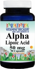 4567 Alpha Lipoic Acid 50mg 90caps Buy 1 Get 2 Free
