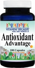 4628 Antioxidant Advantage 100caps Buy 1 Get 2 Free