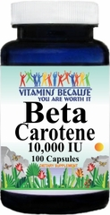 4697 Beta Carotene 10,000 IU 100caps Buy 1 Get 2 Free