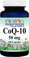 4796 Coenzyme Q-10 50mg 100caps Buy 1 Get 2 Free