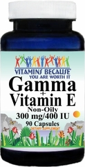 4918 Gamma and Vitamin E 90caps Buy 1 Get 2 Free
