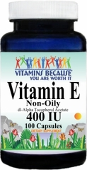 5588 Vitamin E (Non-Oily) 400IU 100caps Buy 1 Get 2 Free