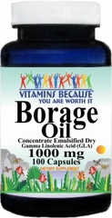 5724 Borage Oil Concentrate Emulsified Dry 1000mg 100caps Buy 1 Get 2 Free