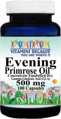 5809 Evening Primrose Oil Concentrate 500mg 100caps Buy 1 Get 2 Free
