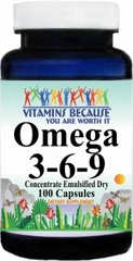 5946 Omega 3-6-9 (Emulsified Dry) 100caps Buy 1 Get 2 Free