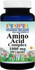 6127 Amino Acid 1000mg Complex 100caps Buy 1 Get 2 Free