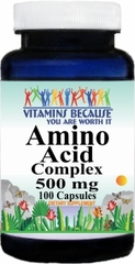 6141 Amino Acid 500mg Complex 100caps Buy 1 Get 2 Free