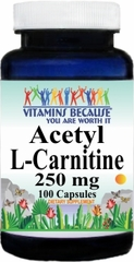 6226 Acetyl L-Carnitine 250mg 100caps Buy 1 Get 2 Free