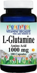 6394 L-Glutamine 1000mg 100caps Buy 1 Get 2 Free