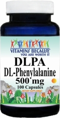 6509 DL-Phenylalanine 500mg 100caps Buy 1 Get 2 Free
