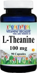 6554 L-Theanine 100mg 90caps Buy 1 Get 2 Free