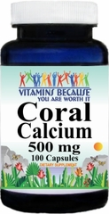 6639 Coral Calcium 500mg 100caps Buy 1 Get 2 Free