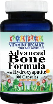 7025 Advanced Bone Formula With Hydroxyapatite 100caps Buy 1 Get 2 Free