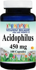 7070 Acidophilus (Keep Refrigerated) 450mg 100caps Buy 1 Get 2 Free