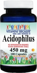 7094 Acidophilus (No RN) 450mg 100caps Buy 1 Get 2 Free