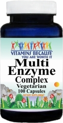 7186 Multi-Enzyme Complex 100caps Buy 1 Get 2 Free