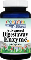 7278 Advanced Digestaway Enzyme 90caps Buy 1 Get 2 Free