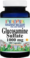 7728 Glucosamine Sulfate 1000mg 100caps Buy 1 Get 2 Free