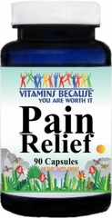 7827 Pain Relief Advantage 90caps Buy 1 Get 2 Free