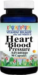 7919 Heart and Blood Pressure Advantage 90caps Buy 1 Get 2 Free
