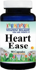 7933 Heart Ease 90caps Buy 1 Get 2 Free