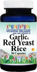 8015 Garlic and Red Yeast Rice 90caps Buy 1 Get 2 Free