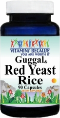 8022 Guggul and Red Yeast Rice 90caps Buy 1 Get 2 Free