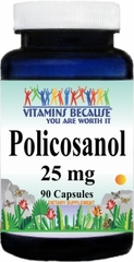 8053 Policosanol 25mg 90caps Buy 1 Get 2 Free