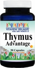 8183 Thymus Advantage 90caps Buy 1 Get 2 Free