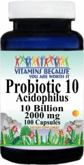 8411 Probiotic 10 2000mg 100caps Buy 1 Get 2 Free