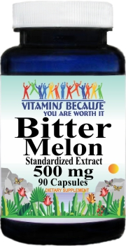 8428 Bitter Melon Standardized Extract 500mg 90caps Buy 1 Get 2 Free