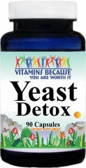 8534 Yeast Detox 90caps Buy 1 Get 2 Free