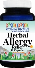 8558 Herbal Allergy Relief 90caps Buy 1 Get 2 Free