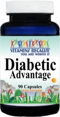 8602 Diabetic Advantage 90caps Buy 1 Get 2 Free