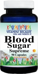 8619 Blood Sugar Supreme 90caps Buy 1 Get 2 Free