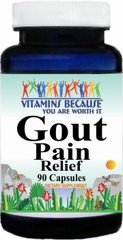 8671 Gout Relief 90caps Buy 1 Get 2 Free
