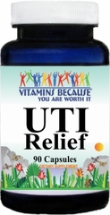 8763 UTI Relief 90caps Buy 1 Get 2 Free