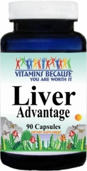 8770 Liver Advantage 90caps Buy 1 Get 2 Free