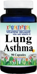 8831 Lung and Asthma 90caps Buy 1 Get 2 Free