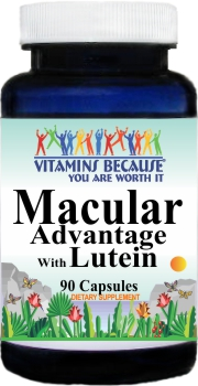 9029 Macular Advantage with Lutein 90caps Buy 1 Get 2 Free