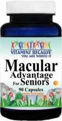 9036 Macular Advantage for Seniors 90caps Buy 1 Get 2 Free