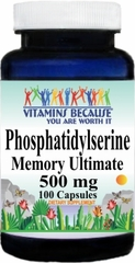 9043 Phosphatidylserine 500mg 100caps Buy 1 Get 2 Free