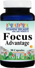 9081 Focus Advantage 90caps Buy 1 Get 2 Free