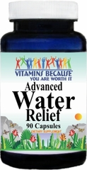 9159 Advanced Water Relief 90caps Buy 1 Get 2 Free