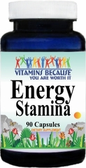 9180 Energy Stamina 90caps Buy 1 Get 2 Free