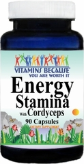 9197 Energy Stamina with Cordyceps 90caps Buy 1 Get 2 Free