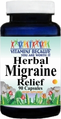 9463 Herbal Migraine Relief 90caps Buy 1 Get 2 Free