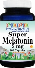 9500 Super Melatonin 5mg 100caps Buy 1 Get 2 Free